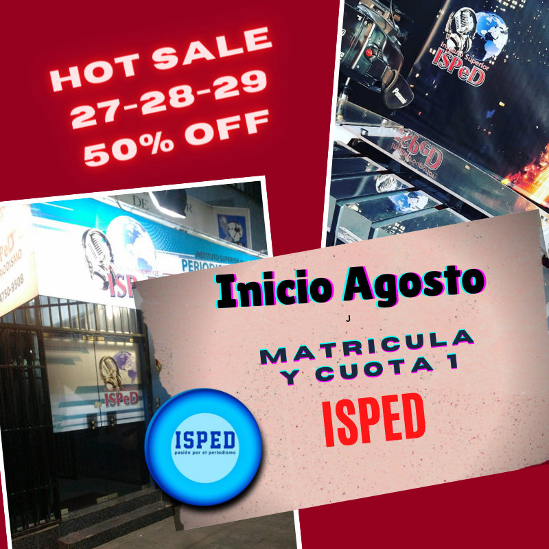 HOT SALE EN EL ISPED